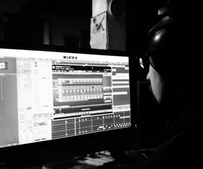 Studioaufnahme Demo incoming